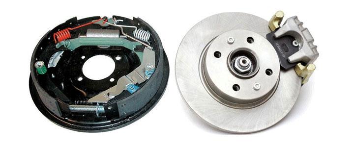 Барабанные тормоза против дисковых