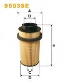 WIX 95038E фильтр топливный