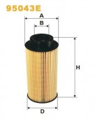 WIX 95043E фильтр топливный