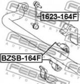 Febest BZSB-164F Втулка переднего стабилизатора