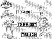 Febest TSHB-007 Пыльник переднего амортизатора