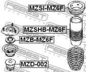 Febest MZB-MZ6F Подшипник опоры переднего амортизатора