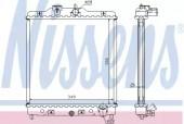 Nissens 63310A Радиатор системы охлаждения