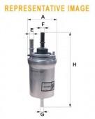 Wix WF8317 фильтр топливный