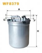 WIX WF8379 фильтр топливный