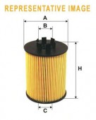 WIX WF8392 фильтр топливный