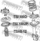 Febest TSI-100D Проставка задней пружины нижняя