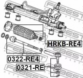 Febest HRKB-RE4 Пыльник рулевой тяги