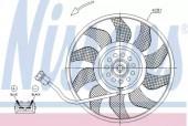 Nissens 85618 Вентилятор радиатора