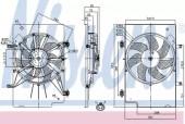 Nissens 85768 Вентилятор радиатора