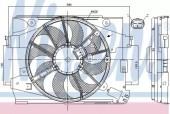 Nissens 85892 Вентилятор радиатора