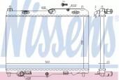 NISSENS 69233 Радиатор системы охлаждения