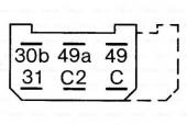 Bosch 0 335 215 154 Датчик ук.повороту