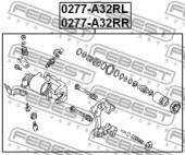 Febest 0277-A32RL Гальмівний супорт
