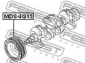 Febest MDS-4G15 Шків