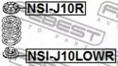 Febest NSI-J10LOWR Проставка пружини