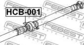 Febest HCB-001 Підшипник