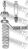 Febest HSB-006 Проставка пружини
