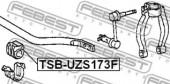Febest TSB-UZS173F Втулка стабілізатора