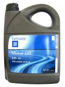 GM Semi Synthetic 10W-40 Оригинальное моторное масло