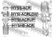 Febest HYSHB-ACR Пильовик амортизатора