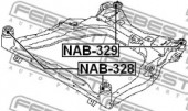 Febest NAB-328 Сайлентблок