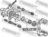 Febest 0376-CF3R Поршень гальмівного суппорта