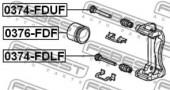 Febest 0376-FDF Поршень гальмівного суппорта