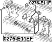 Febest 0276-E11F Поршень гальмівного суппорта