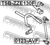 Febest TSB-ZZE130F Втулка стабілізатора