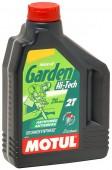 Motul Garden 2T HI-Tech Полусинтетическое масло для 2Т двигателей