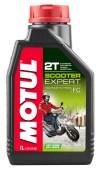 Motul Scooter Expert 2T Полусинтетическое масло для 2Т двигателей