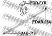 FEBEST FDAB-019 Сайлентблок