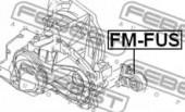 Febest FM-FUS Опора КПП
