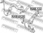 Febest NAB-122 Сайлентблок