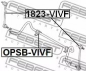 Febest OPSB-VIVF Втулка стабілізатора