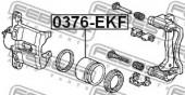 Febest 0376-EKF Поршень гальмівного суппорта