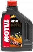 Motul Micro 2T Синтетическое масло 2Т двигателей для авиамоделей