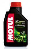Motul 5100 4T 10W-30 Полусинтетическое масло для 4Т двигателей