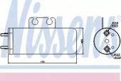 NISSENS 95316 Осушувач кондицiонера