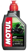 Motul Scooter Expert 4T 10W-40 Полусинтетическое масло для 4Т двигателей