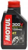 Motul 300V 4T Factory Line масло для 4-х тактных двигателей синтетическое 10W-40