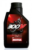 Motul Factory Line 300V 4T 5W-40 Синтетическое масло для 4Т двигателей