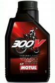 Motul Factory Line Off Road 4T 300V 15W-60 Синтетическое масло для 4Т двигателей