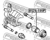 Febest 0176-AE190F Поршень гальмівного суппорта