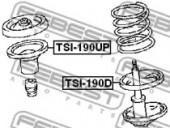 Febest TSI-190UP Проставка пружини