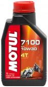 Motul 4T 7100 масло для 4-х тактных двигателей синтетическое 10W-30