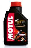 Motul 4T 7100 10W-30 Синтетическое масло для 4Т двигателей