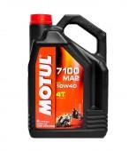 Motul 7100 4T масло для 4-х тактных двигателей синтетическое 10W-40