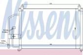 Nissens 94412 Радiатор кондицiонера